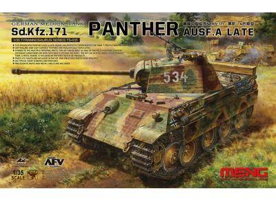 German Medium Tank Sd.Kfz.171 Panther Ausf. A Late